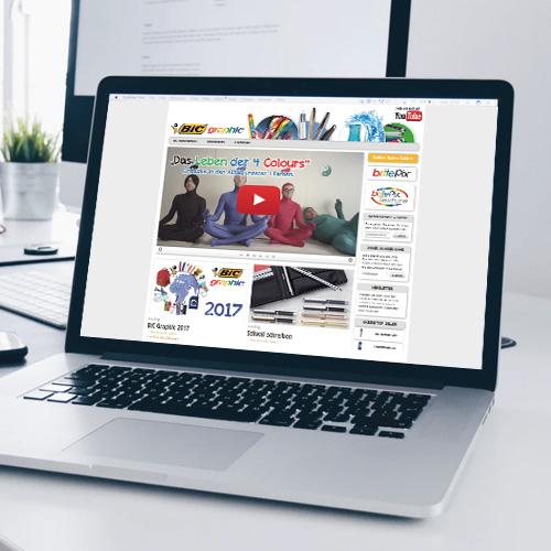eon.at – Referenzen BIC Graphic Webseite